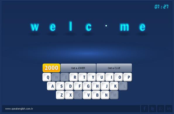 ingilizce kelime ezber öğren oyun